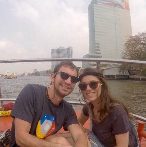 Chao Phraya River in Bangkok