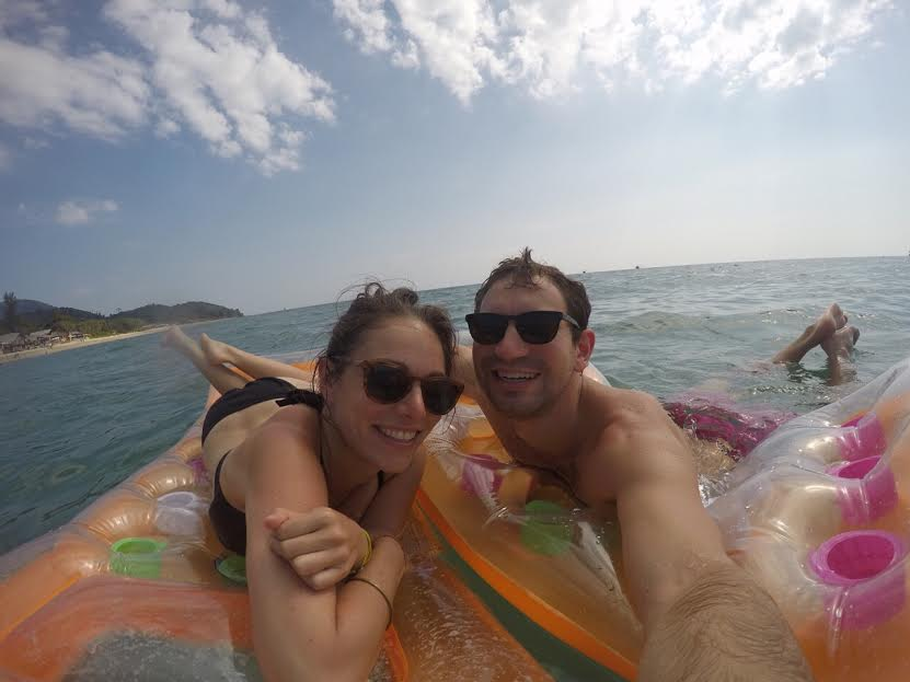 """Floating on rafts in the ocean in Thailand, this is what the Gopro was meant for"" —Daniel"