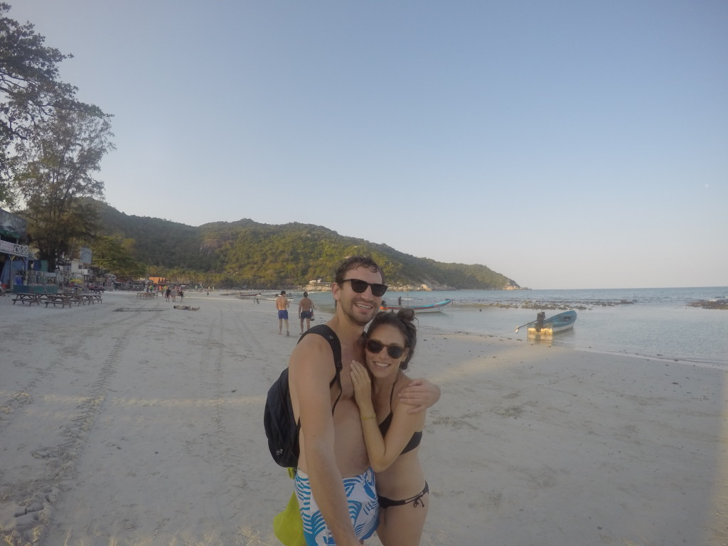A memorable day at Haad Rin beach!