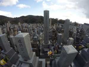 Cemetery on the way to Kiyomizu-dera Temple