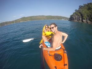 Kayaking in Phi Phi