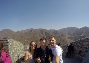 Huanghuacheng section of the Great Wall of China