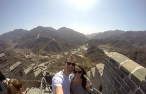 The Huanghuacheng section of The Great Wall of China