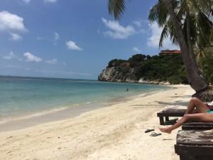 Ko Phanang beach aka Little Israel.