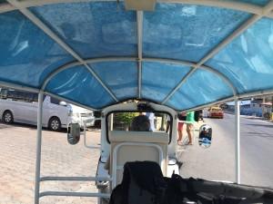 Tuk Tuk to Lanna Resort in Ko Samui