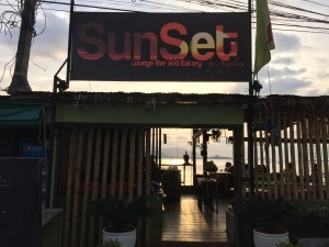 Sunset Bar in Ko Samui