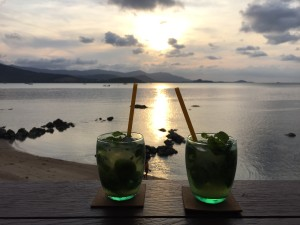 Sundowners at SunsetBar in Ko Samui