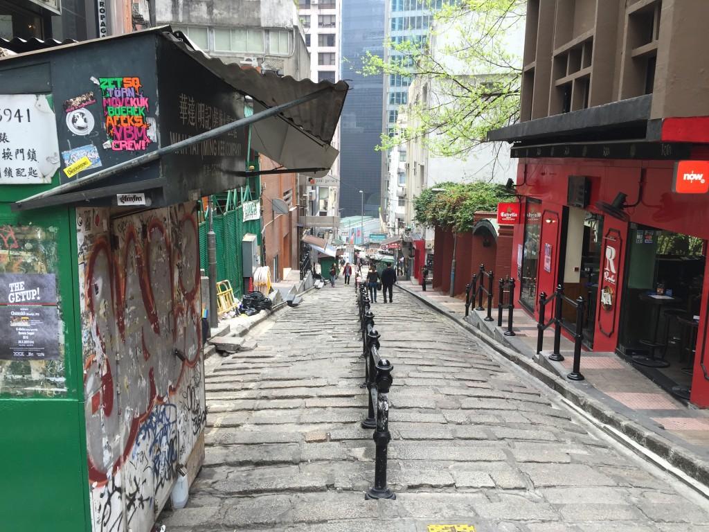 Lok Hing Lane LKF Hong Kong