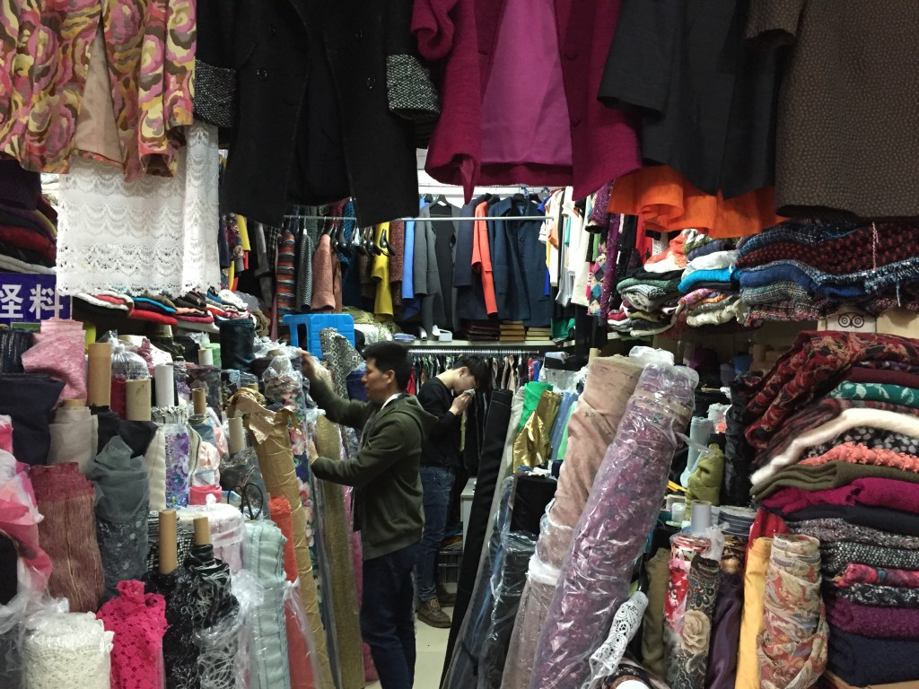 Shanghai South Bund Soft Spinning Fabric Market