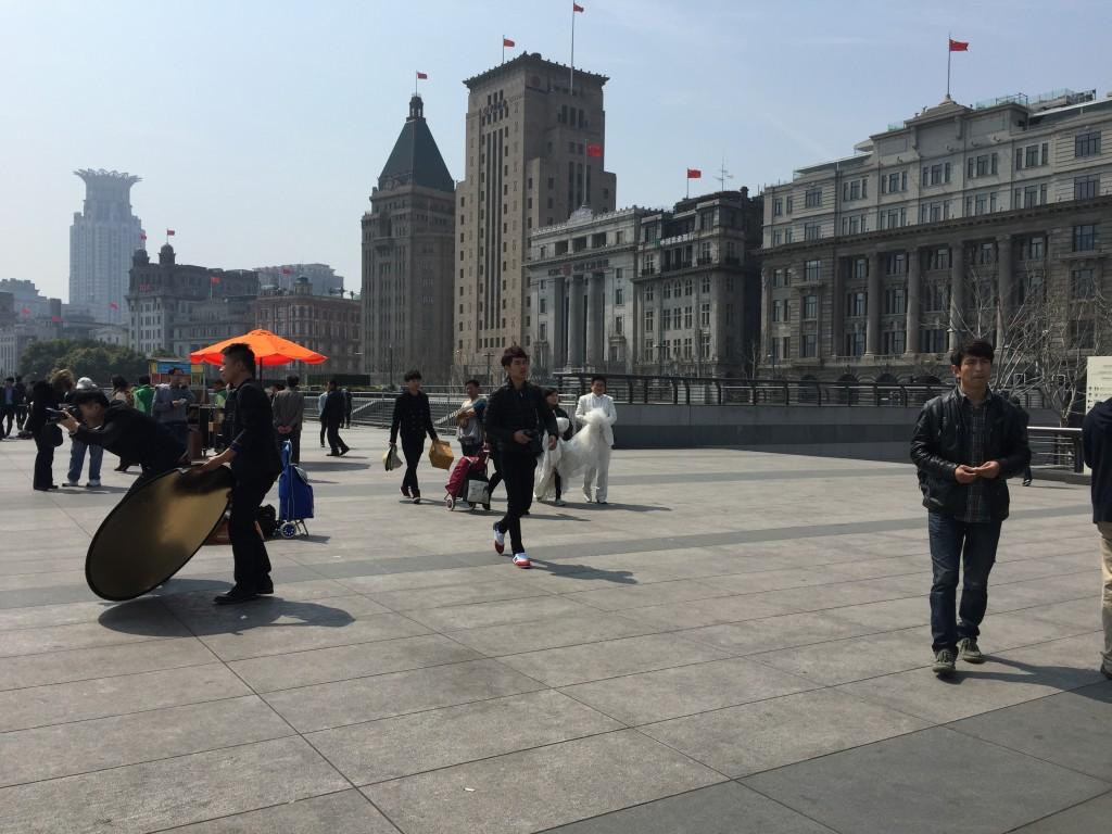 The Bund Wedding Photos in Shanghai