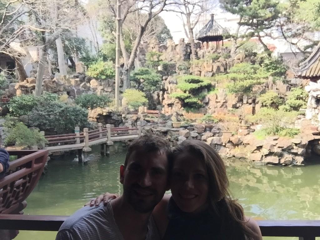 Tea Garden at Yu Gardens in Shanghai