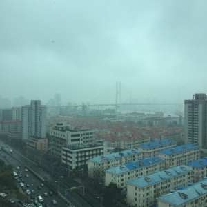 View of Pudong, Shanghai