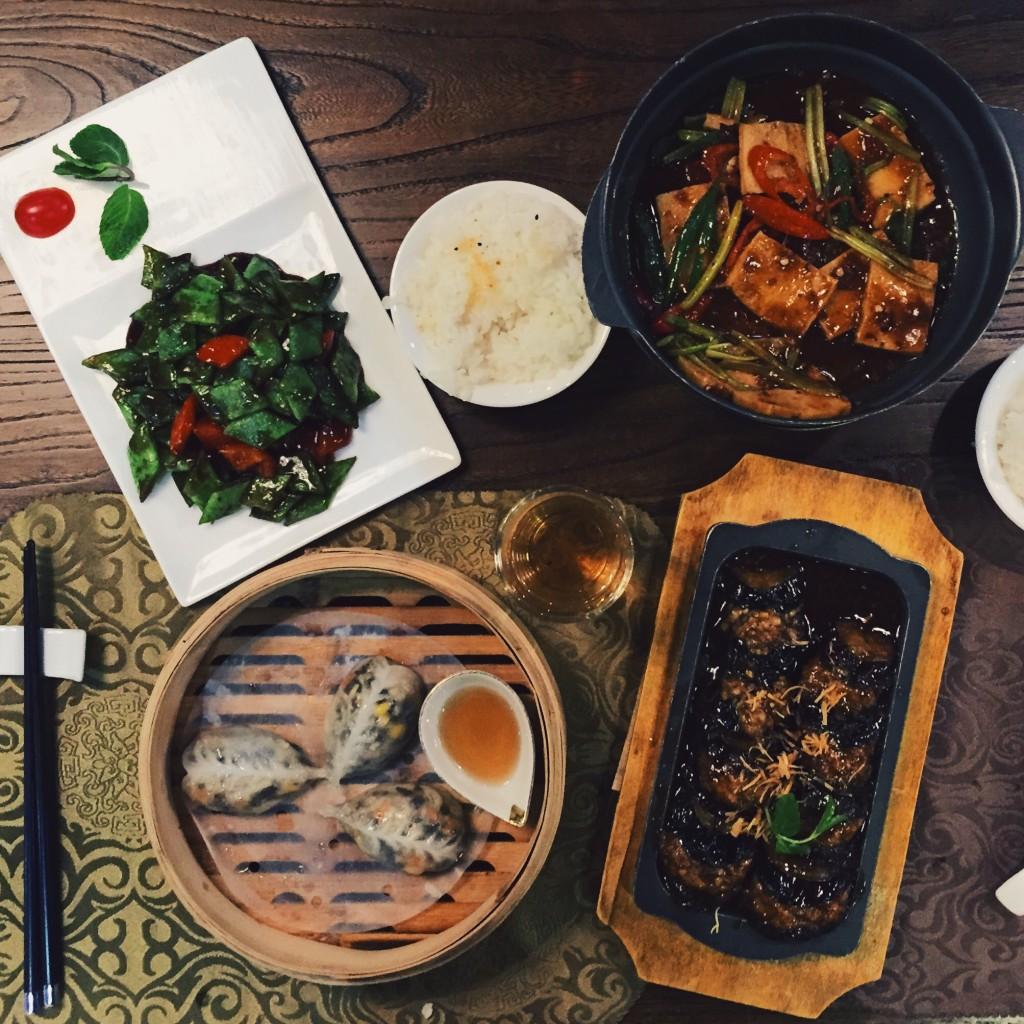 Vegetarian Chinese food in Shanghai