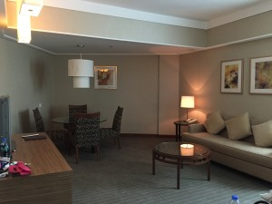 Sheraton Four Points Suite Room in Shanghai