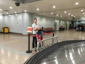 Baggage Claim at Beijing Airport