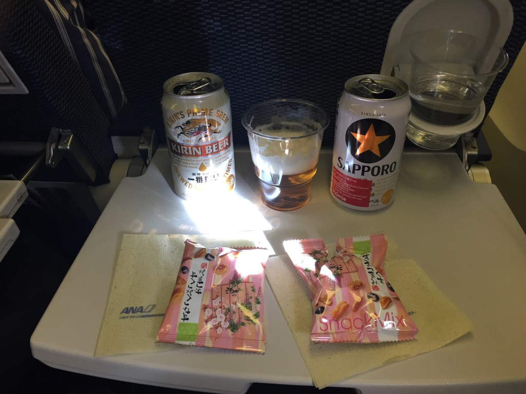 ANA flight snacks