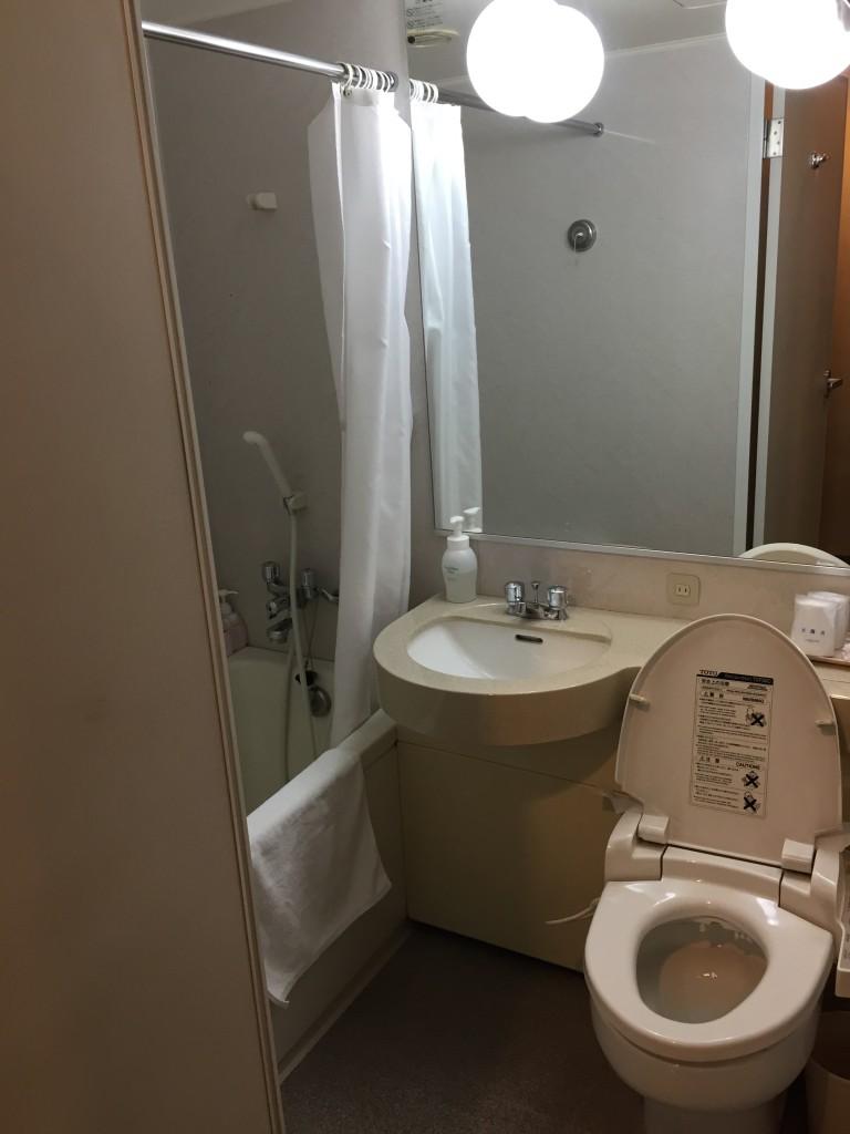 Mielparque Tokyo Hotel Bathroom