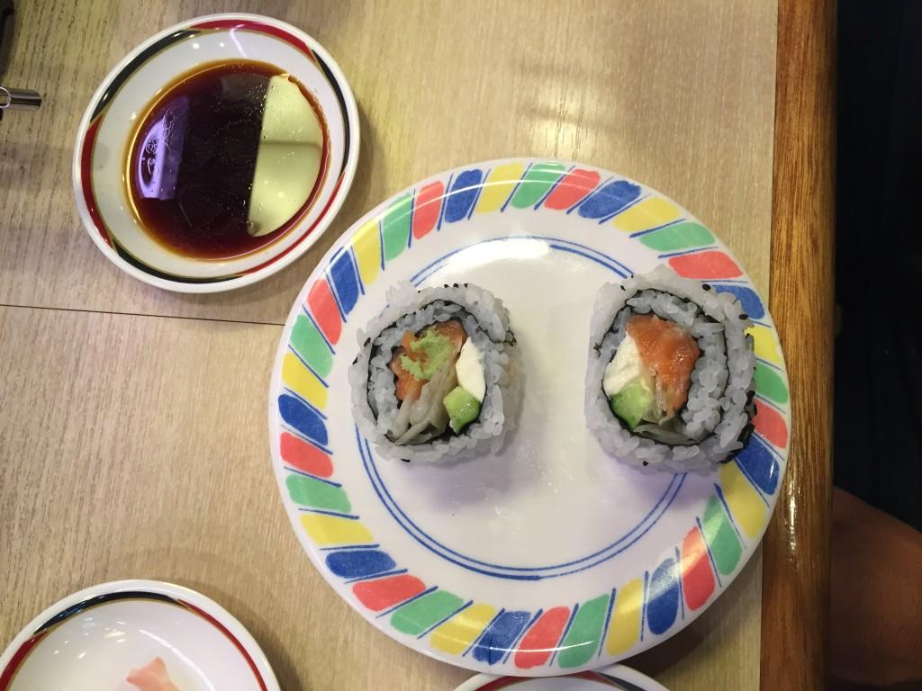 Musashi Sushi in Kyoto