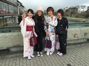 Geisha's in Kyoto