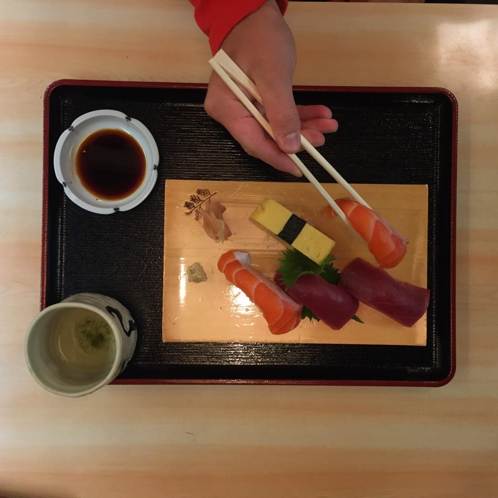 Iyomata Sushi Nikishi Market Kyoto