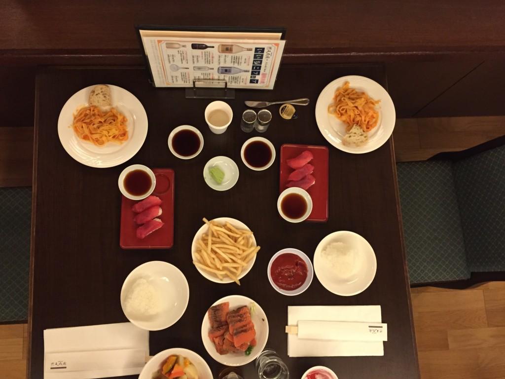 Hakone Tensien Hotel, a traditional onsen ryokan dinner
