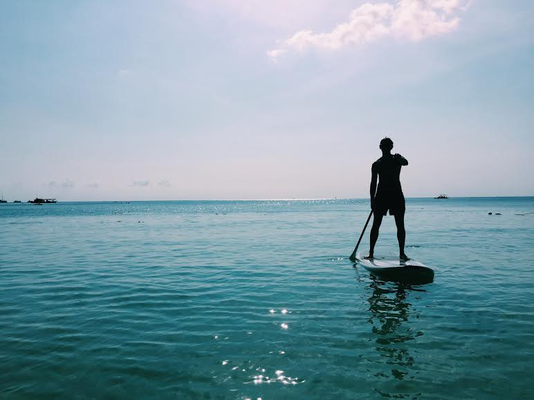 Stand Up Paddle Boarding in Ko Tao