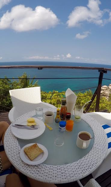 Breakfast ocean view  Ko Tao