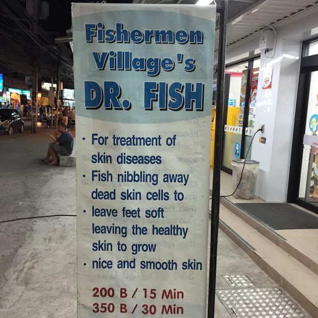 Dr Fish Foot Spa in Ko Samui