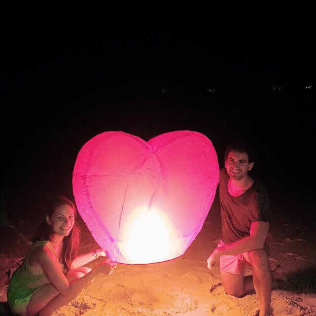 Lucky Balloon Paper Lantern in Ko Samui