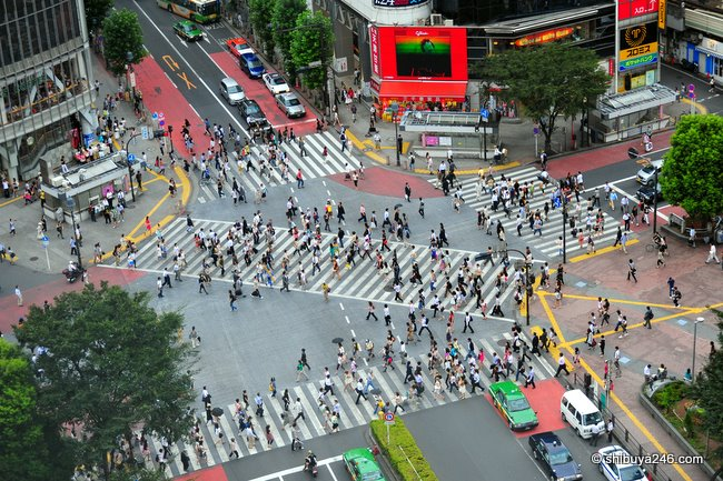 Shibuya Crossing aka Scramble Crossing