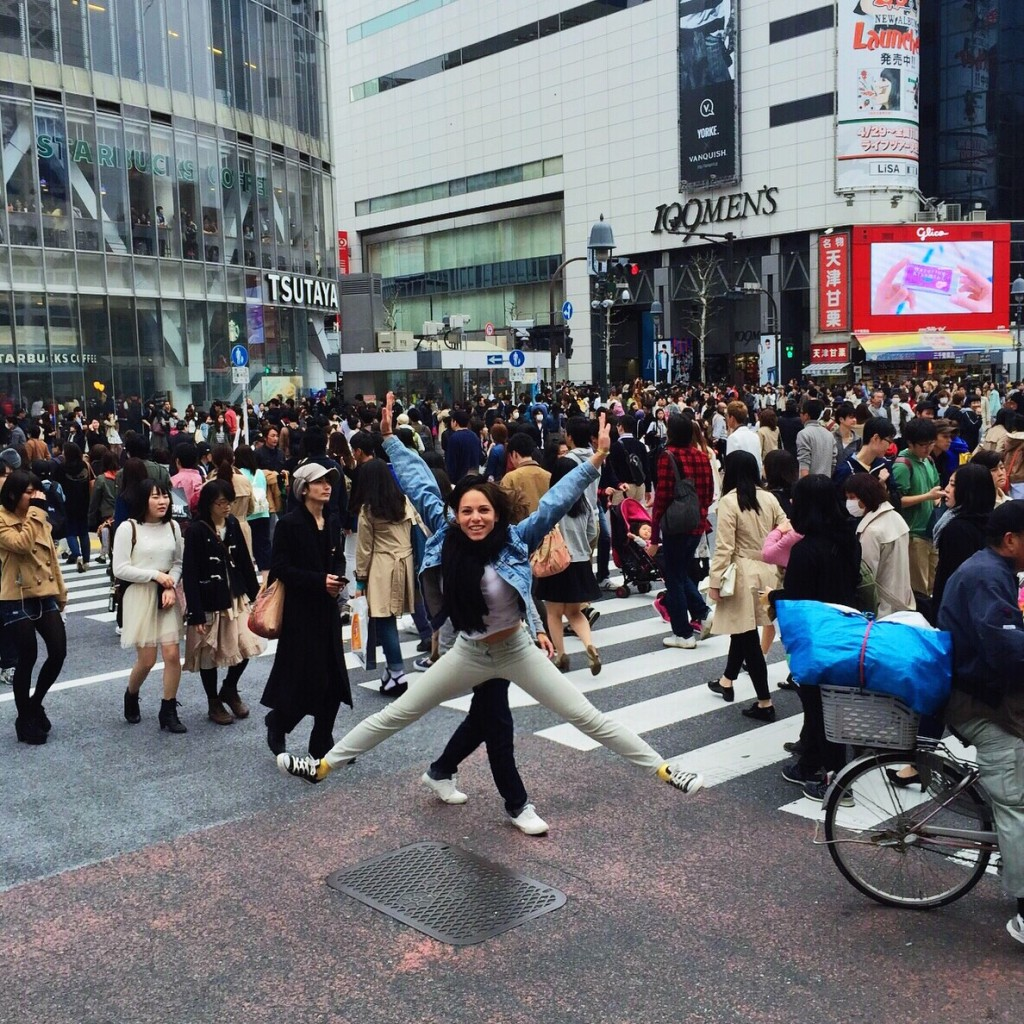 Shibuya Crossing or Scramble Crossing