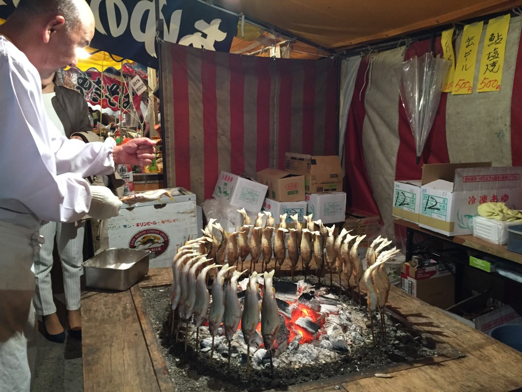 "Ueno Park to check out the Cherry Blossom ""Sakura"" festival food"