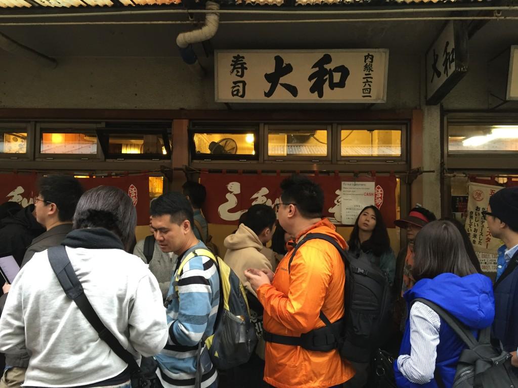 Daiwa Sushi  Tsukiji Fish Market