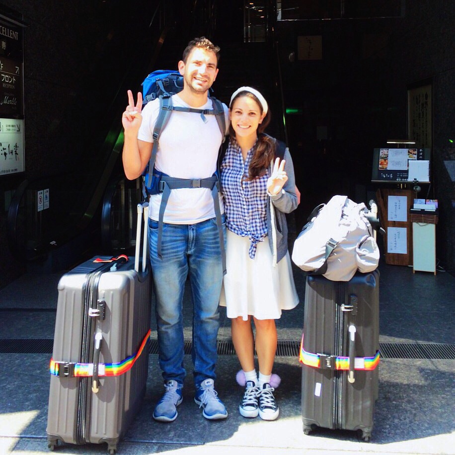"""Peace out Asia. From Sawadika to Ni-How to Konichiwa (to backpacks and suitcases) its been real. Thanks for the hospitality, the eccentricities, and all the other amazingly weird stuff. We'll keep the memories for years. Back to reality—onwards and upwards"""