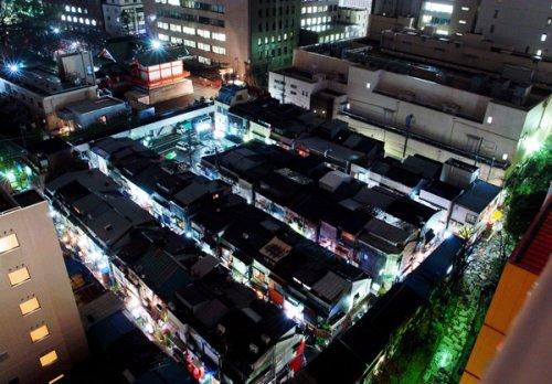 Golden Gai at night Shinjuku-