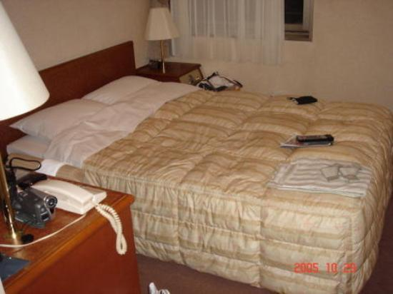 Hotel Excellent Ebisu bed