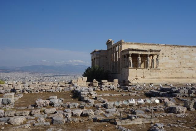 Views climbing up the Acropolis
