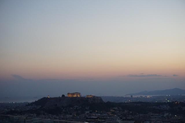 Night views of the Acropolis