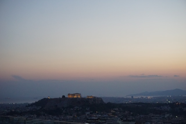 Night views of the Acropolis