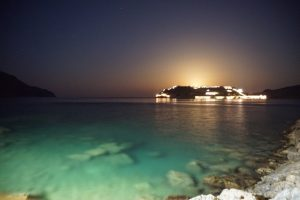 Just after sunset looking at Spinalonga