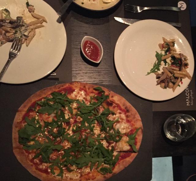 Italian dinner at Malconi's