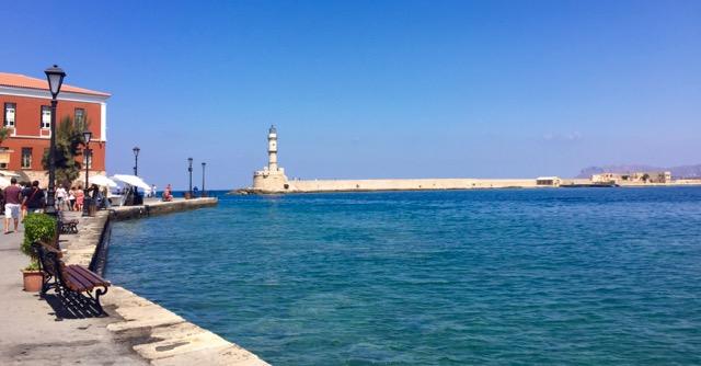 Old Venetian Harbor Chania