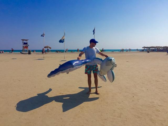 Daniel pretending he was on the playa (kinda was...)