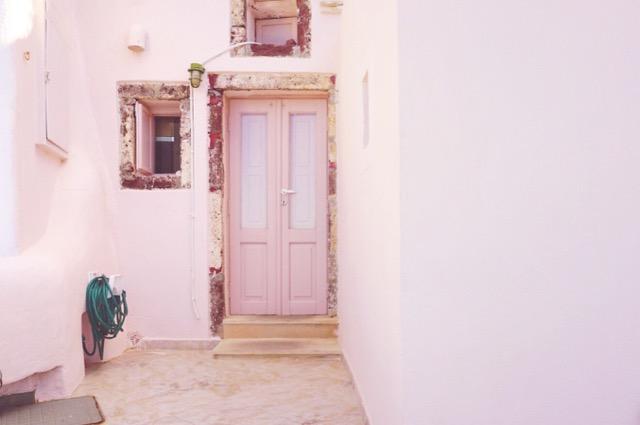 Found Barbie's dream house in Santorini
