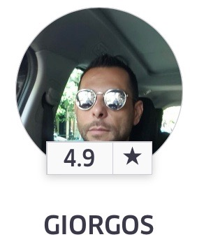 Our Uber driver
