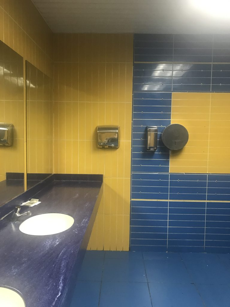 Havana Airport Bathroom