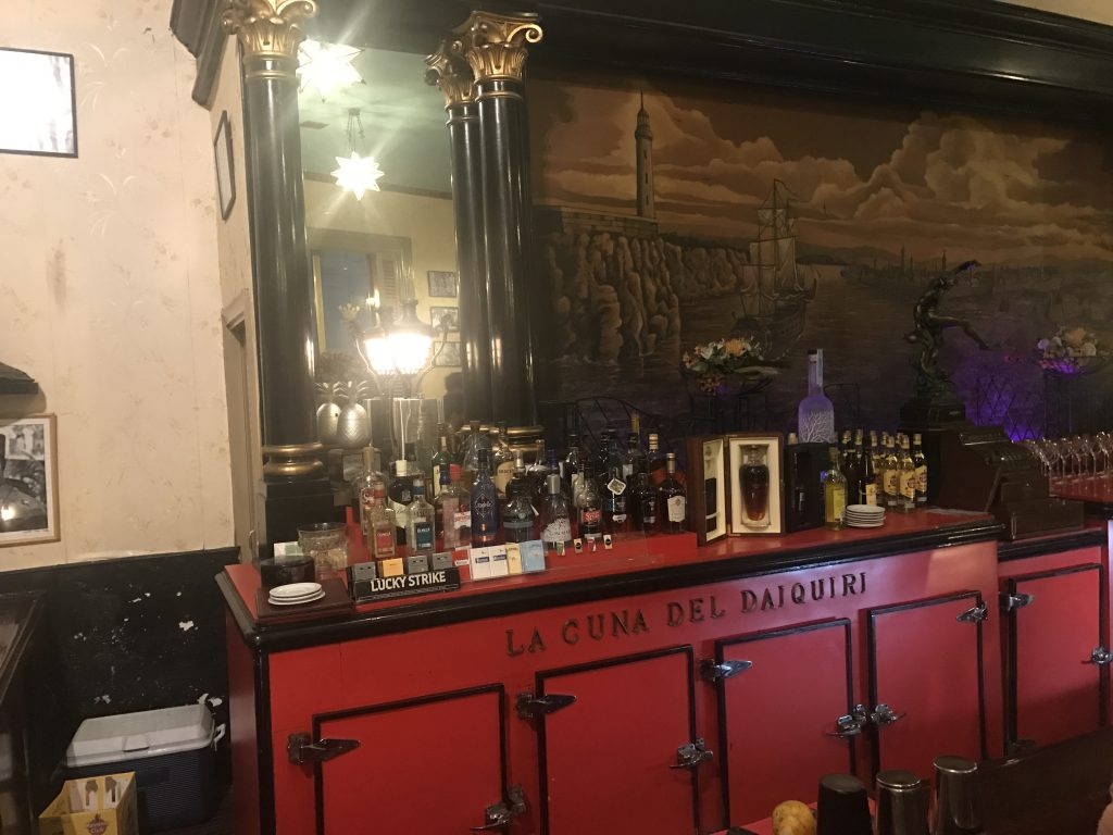 Bar at El Floridita