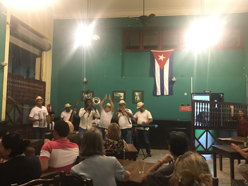 Bar in Havana Cuba