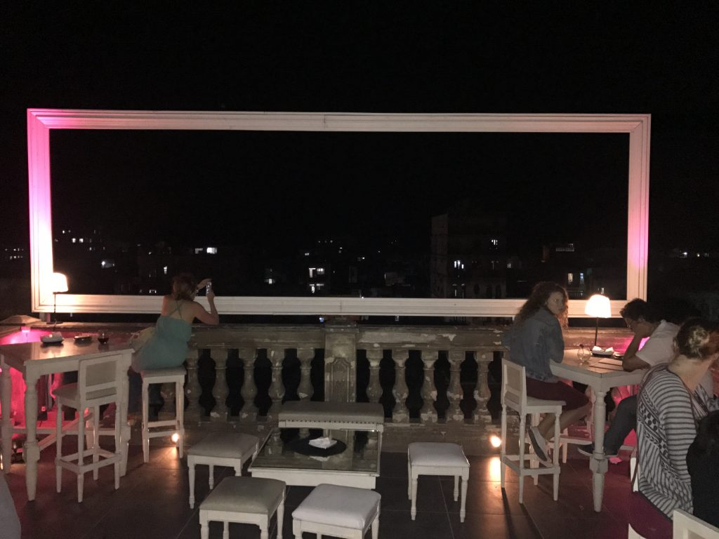 Rooftop at La Guarida