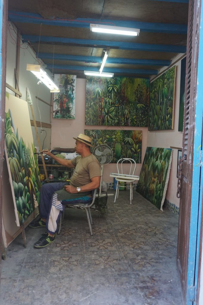 Artist's Studio in Old Havana